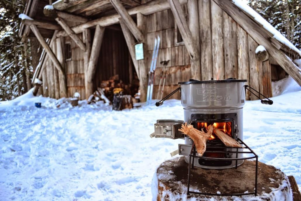 winter-tafereel Restaurant Zalen van Veen