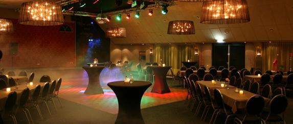zaal witterveld - restaurant zalen van Veen